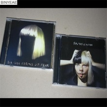 BINYEAE- new CD seal: Sia two albums - 1000 Forms of Fear This is Acting 2CD light disk [free shipping](China)