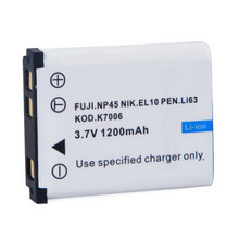 1 Pcs New Li-42B Digital camera battery,for OLYLi-40B/42B For FUJI.NP45 NIK.EL10 PEN.Li63 KOD.K7006