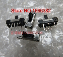 Imported original mini pull switch Slide switch to push the switch third gear pull switch