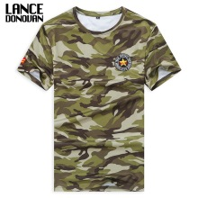 100% Polyester Military Camouflage Breathe Quickly Dry T-shirt 2017 M-5XL 6XL 7XL 8XL Tshirt Summer Short Sleeves T Shirt(China)