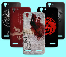 Ice and Fire Cover Relief Shell For Lenovo K5 NOTE Cool Game of Thrones Phone Cases For Lenovo Vibe K5 plus/lemon 3 3S