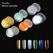 Saroline 1g Magic Mirror Powder Pigment UV Gel Nail Chrome Pigment Long-lasting Glitters mirror powder nails phosphor paint(China)