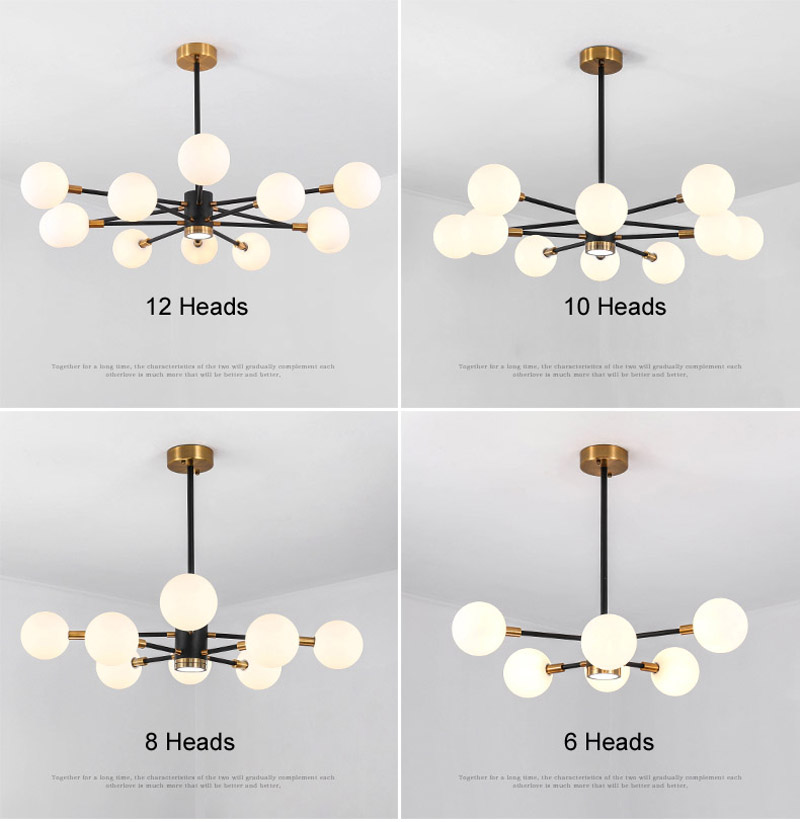 Nordic Modern Molecular Magic Bean Branch Pendant Lights Italian LED Hanging Lamp for Dining Room Kitchen living room bar Lighting 03