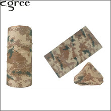 C.gree Military Army Camouflage Series pattern Bandanas Sports Ride Bicycle Motorcycle Turban Magic Headband Veil Scarf  337