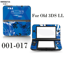 Kumamoto Stick Gamepad-Skin Protector Cover Plates or Pokemon For Nintendo Old 3DS XL LL Sticker / Old 3DS XL LL Stiker