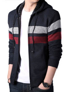 SMen Sweater Zipper C...