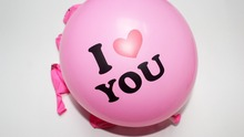 Good Quality 20pcs/lot 12 inch Pearl Latex Balloon I LOVE YOU Balloons Valentines Day Love You Wedding Decorations