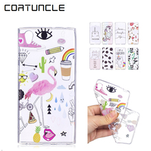 Buy COATUNCLE Coque Sony Xperia E5 Case, Soft TPU Transparent Silicone Cartoon Back Cover sFor Sony E5 F3311 F3313 f 3313 Case for $1.00 in AliExpress store