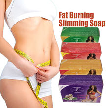 100g Fat burning slimming soap for weight loss slimming cream 2 kinds(Garlic/Tea) Weight loss cream body care