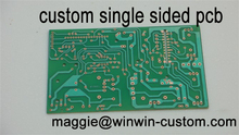 Free shipping 1pc custom pcb board service Best single sided pcb fr4 pcb from PCB Manufacture(China)