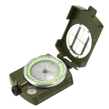 New Lensatic Campass Portable Compass High Quality Climbing Outdoor Camping Equipment Positioning Orienting Ploting Tool(China)