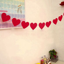 3M Fashion Love Heart Flag Decoration Valentine Day Wedding Party Banner Garland