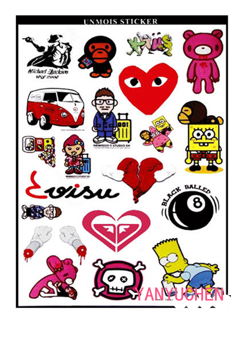 Happyxuan 1PC sheets Kids Cute 3D Animals Cartoon Stickers Mixed Dress Up School Teacher Reward Children Early Learning Toys