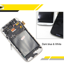 S4 LCD Screen Compatible For Samsung Galaxy S4 IV GT-I9500 I9505 LCD Screen Display Digitizer with Touch Screen Assembly frame