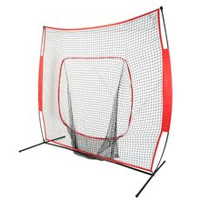 7*7 Softball Baseball Practice Net with Bow Frame Compact Carrying Bag Softball Training Net Outdoor Sports Training(China)