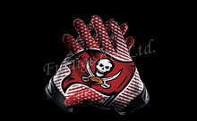 Tampa Bay Buccaneers Glove 3x5 ft flag 100D Polyester flag 90x150cm NFL custom american football gloves flag(China)