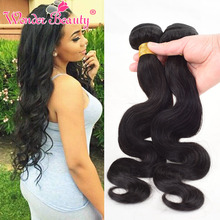 "Wholesale Best Selling Indian Body Wave 3pcs100g Natural Black 8""-30"" Unprocessed Indian Virgin Hair Human Hair Extension"