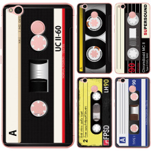 Case For Xiaomi Redmi 4X Cover Back Phone Soft TPU Vintage Cassette Tape Design For Xiaomi Redmi 4 X Case Protective Back Funda(China)