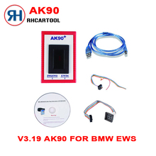 Car styling AK90+ Key Programmer For All BMW EWS Newest Version V3.19 AK90 AK 90 Key Programmer For BMW EWS With Free Shipping(China)