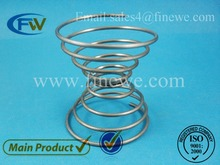 Manufacture galvanized compression springs, coil spring, zinc spring cup(China)
