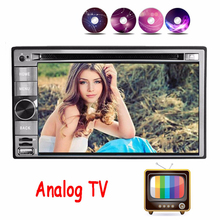 Analog TV Quad core 2 din android 4.4 Car Radio Car DVD Player GPS Navigation In dash Car PC Stereo video+steering wheel control