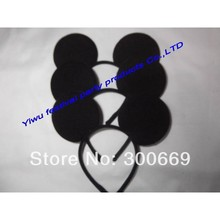 kids birthday partyLovely Mickey and Minnie ears Hair accessories mickey mouse ears headband