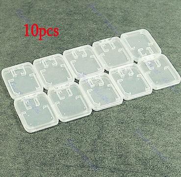 10Pcs TF Micro SD SDHC Memory Card Plastic Case White<br><br>Aliexpress
