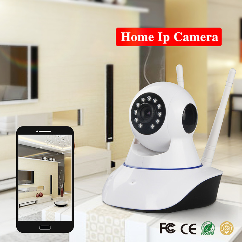 720p HD Network wifi Wireless home security Baby Monitor IP Camera, Motion detect, support 433MHZ alarm sensor<br>