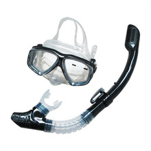 SB03 Myopia Goggles All Dry Breathing Tube Snorkeling Equipment(China)