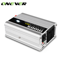 Onever Car Auto Modified Pure Sine Wave Power Inverter 500W DC 12V to AC 220V Adapter 100W Peak Power Converter USB Charger(China)
