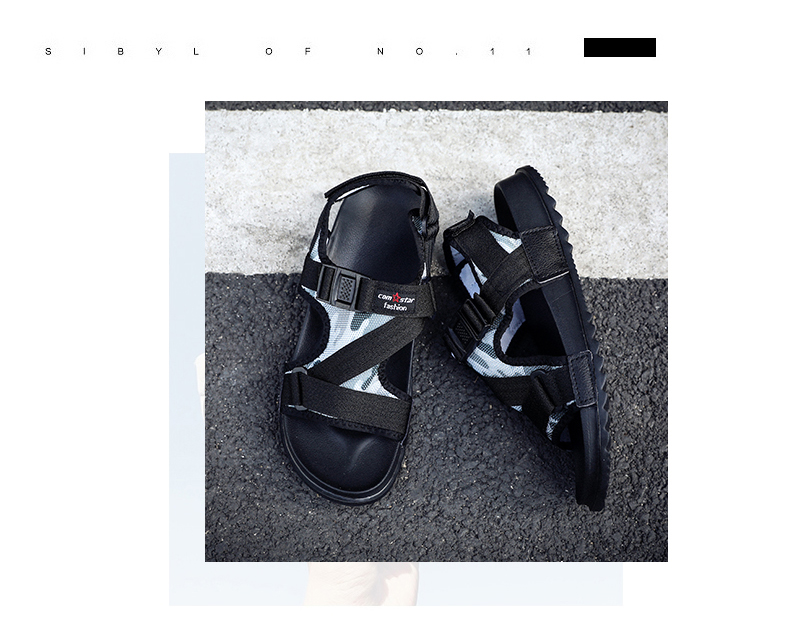 Slippers Men's Sandals Men's Summer Men's Sandals And Slippers Non-slip Beach Fashion Outdoor Wear Drag Trend 77 Online shopping Bangladesh