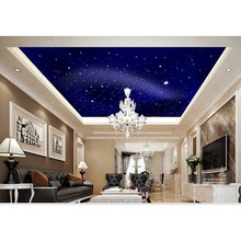 2016 New 3D Star Sky Luxury Home Decor Wall Paper Ceiling Mural Wallpaper For Bedroom Living Room 3D Sticker Paper New Brand #10