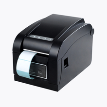Cheap thermal barcode printer 20-82mm adhesive stickers label printer for warehouse and store USB QR code ptinting HS-80B01