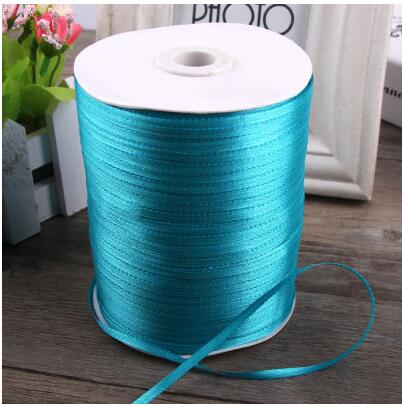 3mm Silver Wedding Party Decoration Crafts Gifts Wrapping Apparel Sewing Ribbon