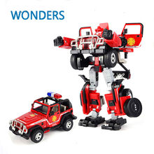 Genuine Metal  Robocar command  car Transformation Alloy fire series Deformation Robot car Toys For Kids children Christmas toy