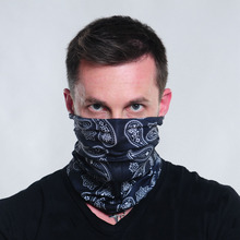 New Fashion Bandanas  Riding  Bicycle Motorcycle Riding Variety Turban Magic Headband Veil Multi skull Head Scarf