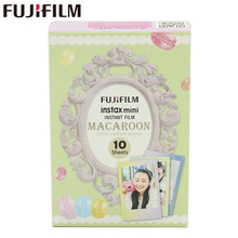 Original Fujifilm Fuji Instax Mini 8 MACAROON Film 10 Sheets For 8 50s 7s 90 25 Share SP-1 Instant Cameras New arrive(China)