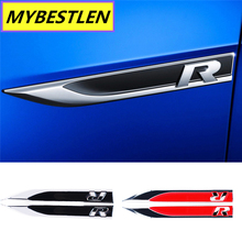 R decoration fit for VW Volkswagen Golf 7 MK6 JETTA POLO tiguan accessories car styling(China)