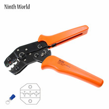 Pre insulated terminal clamp SN-02C manual tool wire connector crimping pliers cold terminal crimping pliers Free Shpping(China)