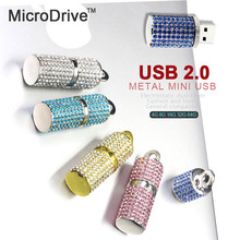 Beautiful Diamond Necklace Stick USB Flash Drive pen 64GB 32GB 16GB 8GB 4GB crystal memory sticks