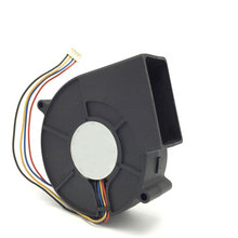 12V 1.80A PWM Temperature control speed regulating fan 4-wire Turbine centrifugal blower(China)