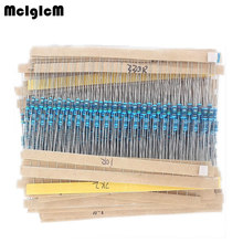 99002 free shipping 600Pcs  30 Kinds Each Value Metal Film Resistor pack 1/4W 1% resistor assorted Kit Set