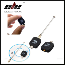 New Micro USB Digital Mobile TV HDTV Tuner Mini DVB-T Satellite Receiver for Android DVBT Dongle with Antenna