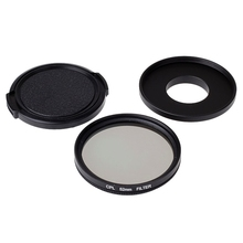52mm CPL Filter For Xiaomi yi Camera Lens Protector Camera Filter For Original Xiaomi yi xiaoyi Action Sport Camera Accessories