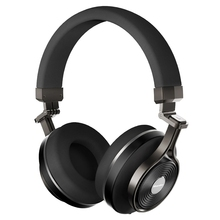 Original Bluedio T3 Plus Bluetooth Headphones 3D Sound Effect with Mic 3.5mm Line-in Audio Jack Support Micro SD Card