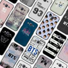 BTS Bangtan Boys music logo Black Case Cover Shell Protective for Samsung Galaxy J1 J2 J3 J5 J7 2016 2017(China)