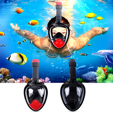 Underwater Diving Mask Snorkel Set Swimming Training Scuba mergulho full face snorkeling mask Anti Fog Gopro Camera Dropshipping