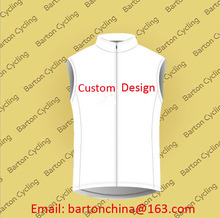 Custom Design Your Logo Summer Sleeveless Jersey Bike Racing Team Road Biker Cycling Sports Jersey S006