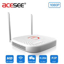 Acesee 9CH 1080P Standalone Wireless NVR WIFI Recorder Wireless Security Ip Camera Wifi Video Recorder CCTV System Wifi nvr 300m(China)