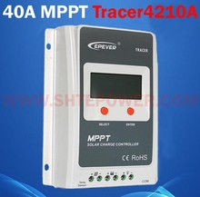 off grid 12v 24v mppt solar charge controller 40a with PV short circuit protection Tracer4210A(China)